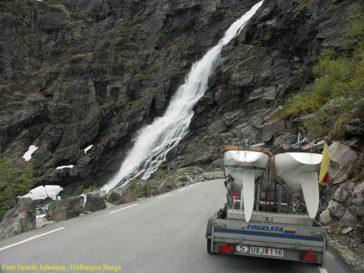 Hemresan gick över Trollstigen